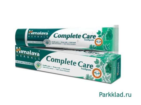 """Зубная паста """"Комплексная защита"""" Himalaya 80 гр"""