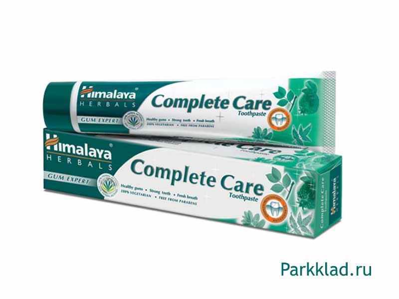 """Зубная паста """"Комплексная защита"""" Himalaya 75 гр"""