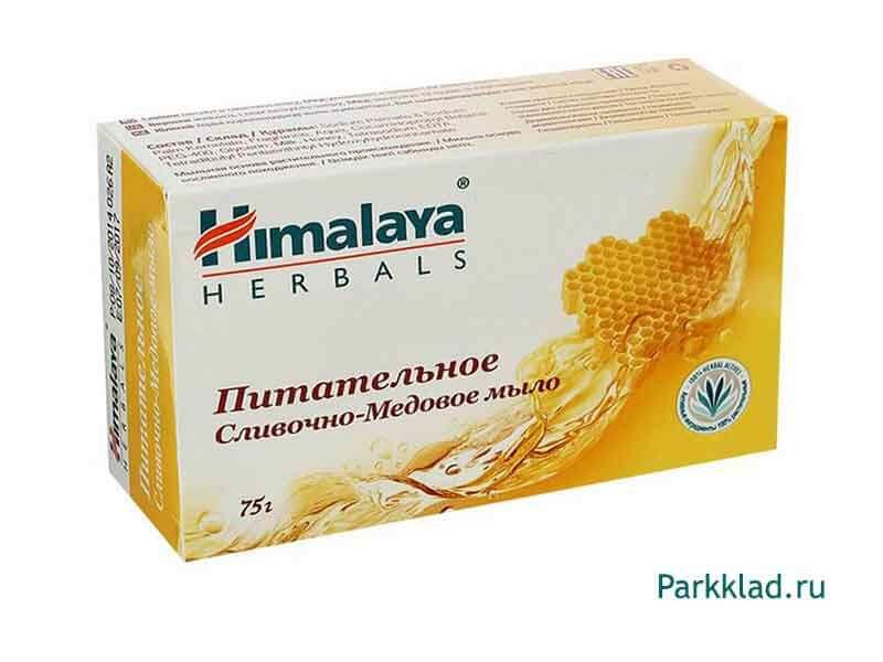 Мыло питательное сливочно-медовое Himalaya