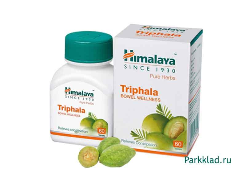 Трифала (Triphala) Himalaya 60 таблеток