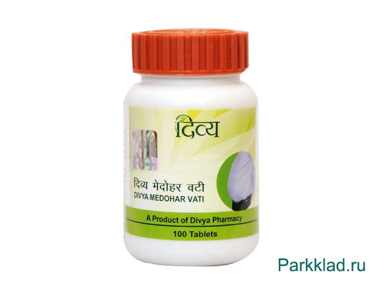 Медохар вати (Medohar Vati Jiva) 100 таблеток.