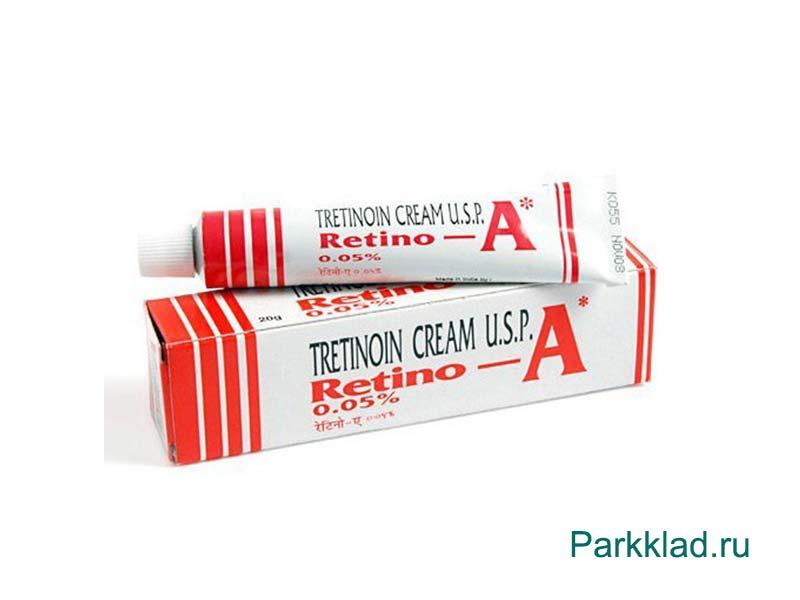 Третиноин крем Ретино-А (Retino-A)