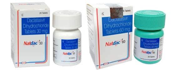 Natdac Активные ингредиенты: даклатасвир
