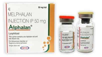 Alphalan Активные ингредиенты: Мелфалан