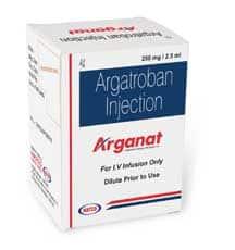 Кардиология Natco Arganat Активные ингредиенты: Аргатробан
