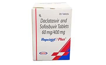 Гепцинат Плюс Активные ингредиенты: даклатасвир + софосбувир