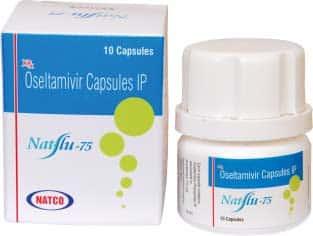 Natflu Активные ингредиенты: осельтамивир фосфат