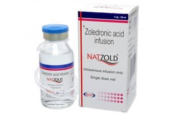 Natzold Активные ингредиенты: Золедроновая кислота