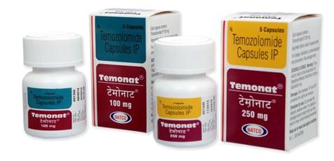 Temonat Активные ингредиенты: темозоломид