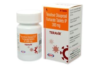 Teravir Активные ингредиенты: тенофовир