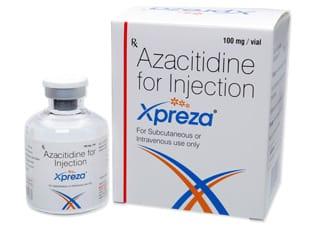 Xpreza Активные ингредиенты: азацитидин
