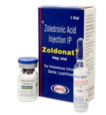 Zoldonat Активные ингредиенты: Золедроновая кислота