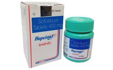 Hepcinat Активные ингредиенты: Софосбувир