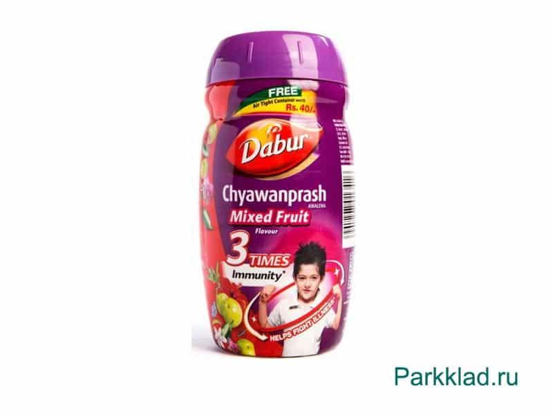 Чаванпраш со вкусом мультифрукт (Dabur CHYWANPRASH)