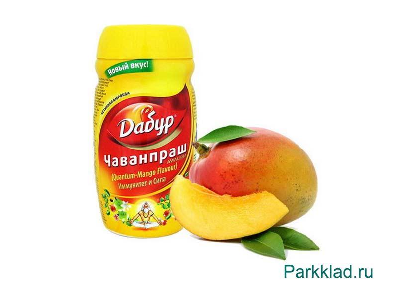 Чаванпраш со вкусом манго (Dabur CHYWANPRASH Mango) 500 гр