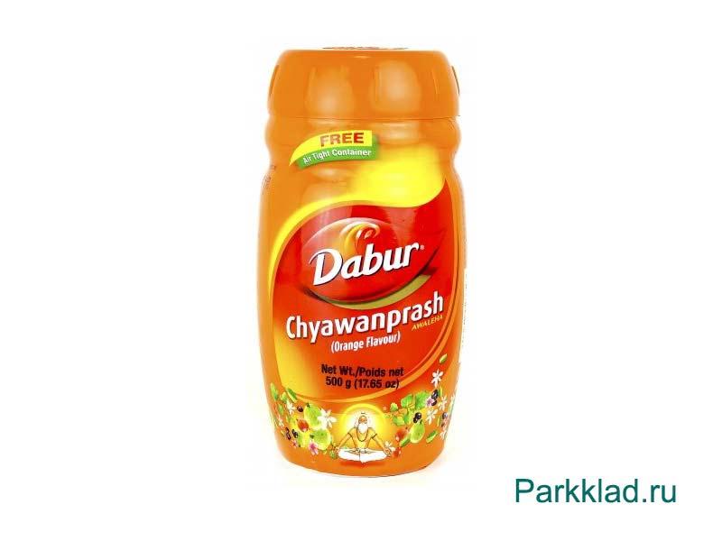Чаванпраш со вкусом Апельсина (Dabur CHYWANPRASH Orange)