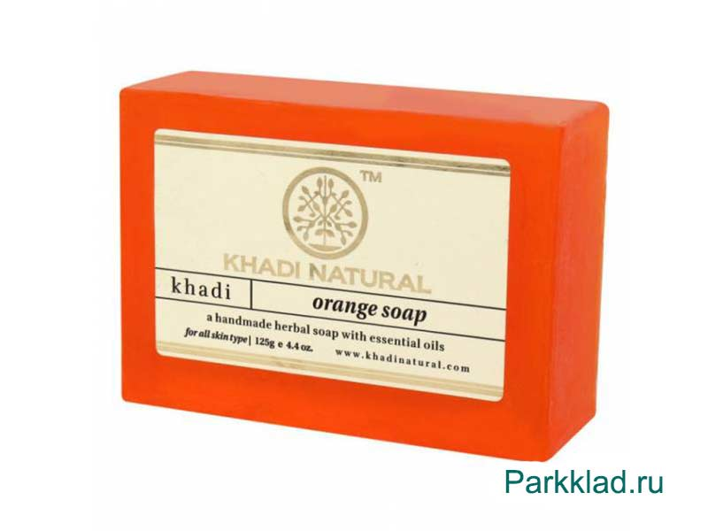 Khadi Orange SOAP/Кхади мыло «Апельсин» 125 гр
