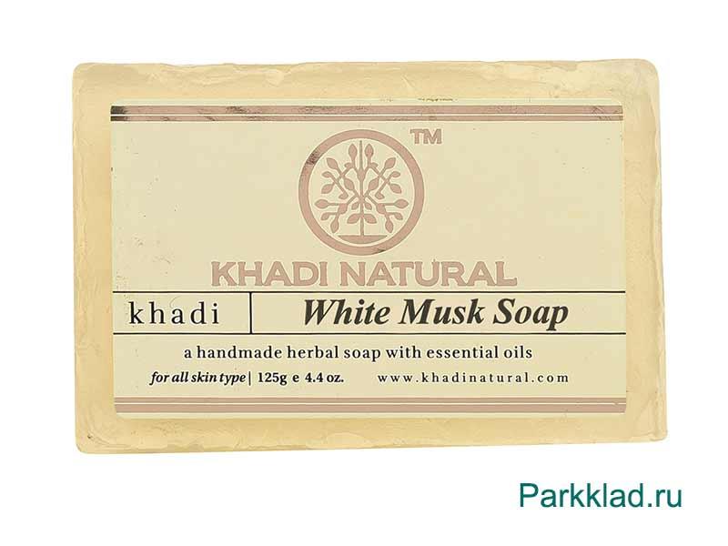 Khadi White Musk SOAP/Кхади мыло «Белый Мускус» 125 гр