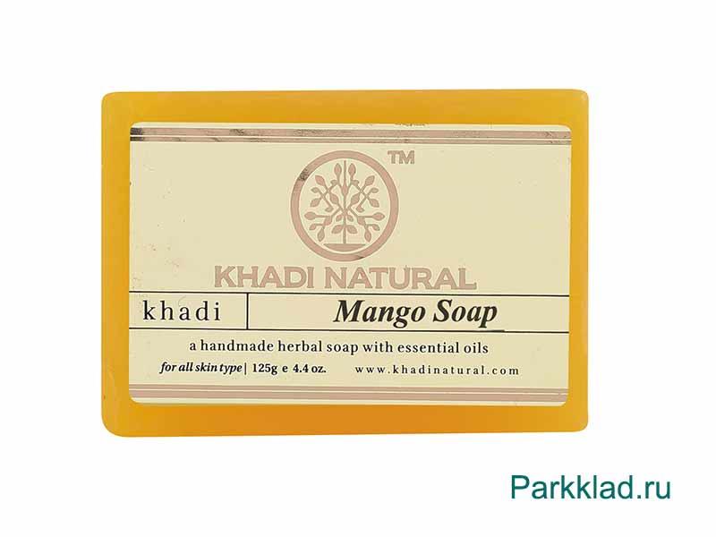 Khadi Mango SOAP/Кхади мыло «Манго» 125 гр