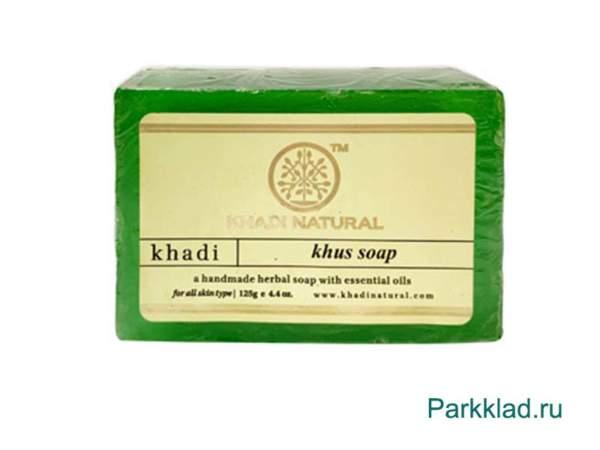 Khadi Khus SOAP/Кхади мыло «Ветивер» 125 гр
