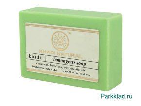 Khadi Lemongrass SOAP/Кхади мыло «Лемонграсс» 125 гр