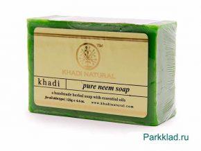 Khadi Pure Neem SOAP/Кхади мыло «Ним» 125 гр