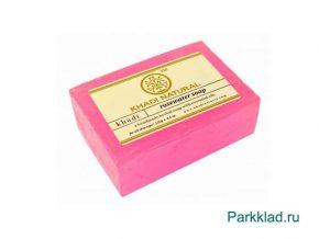 Мыло «Розовая вода» Кхади 125 гр
