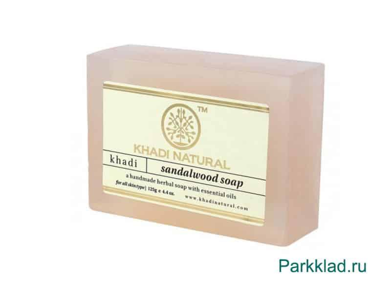 Мыло Khadi SANDAL WOOD SOAP «Сандаловое дерево» 125 гр