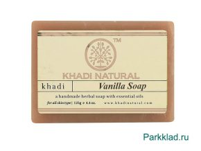 Khadi Vanilla SOAP/Кхади мыло «Ваниль» 125 гр