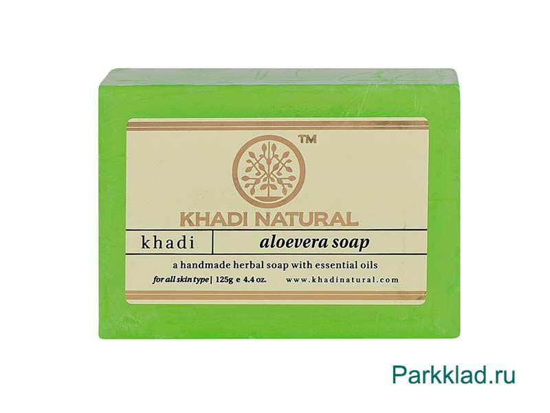 Khadi Aloevera SOAP/Кхади мыло «Алоэ Вера» 125 гр