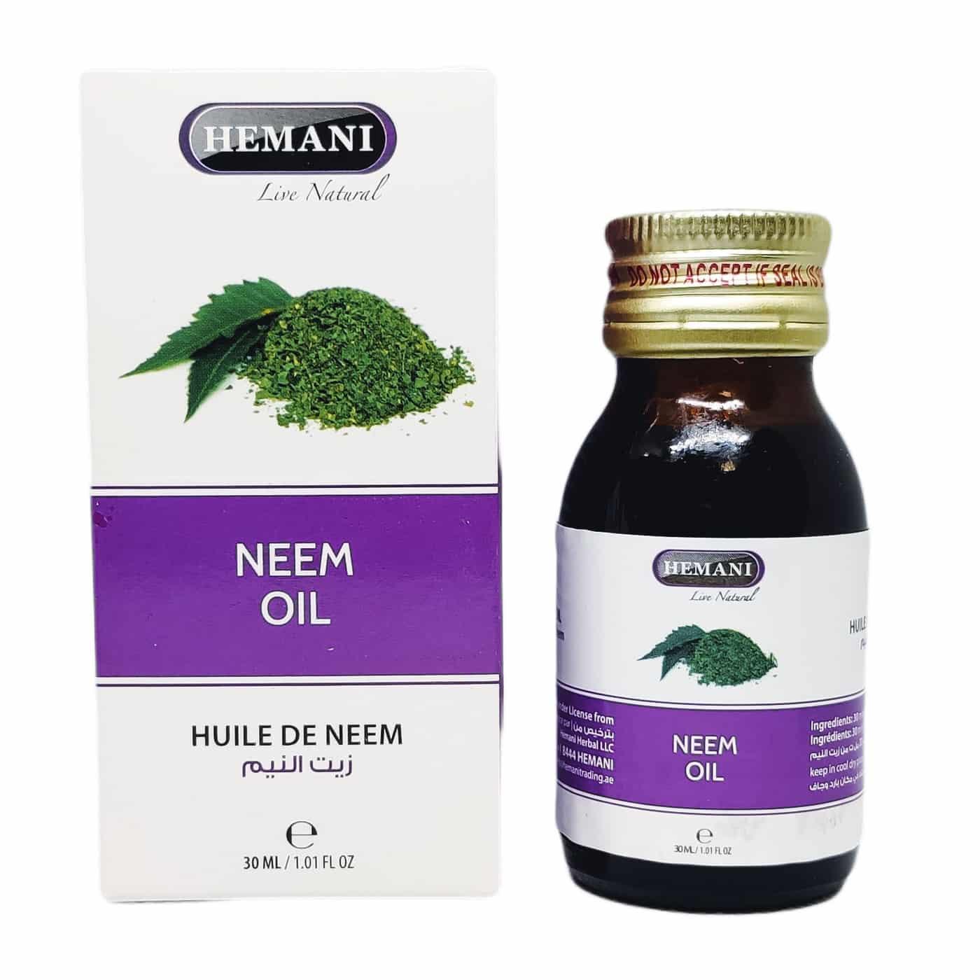 Hemani Neem Oil / Масло Ним Хемани 30 мл.
