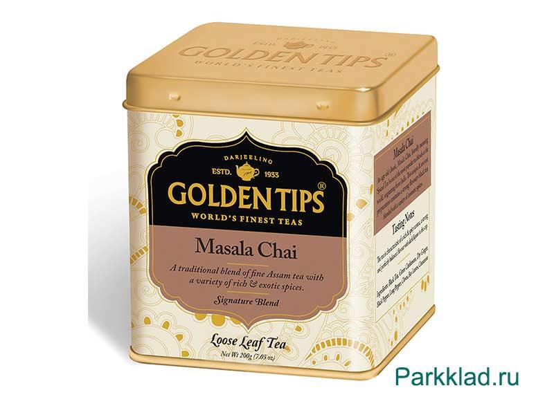 Масала Чай в банке/Masala Chai Tin Can «Golden Tips» 125 гр.