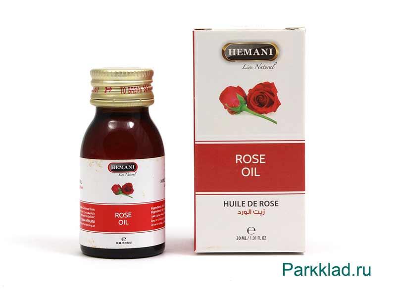 Масло Розы Хемани (Hemani Rose Oil) 30 мл