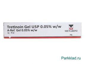 Третиноин гель Менарини (Tretinoin Gel USP) 0.05% 20 гр