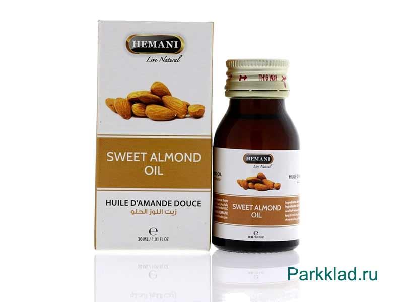 Масло Сладкого миндаля Хемани (Hemani Sweet Almond) 30 мл
